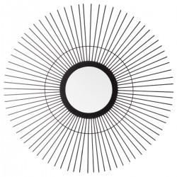 Miroir soleil D59cm MODERN LIFE - Noir