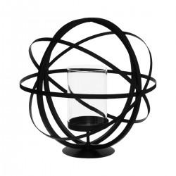 Photophore boule noir - Petit modèle