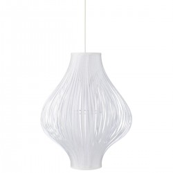 Suspension pliante H44cm YISA - Blanc