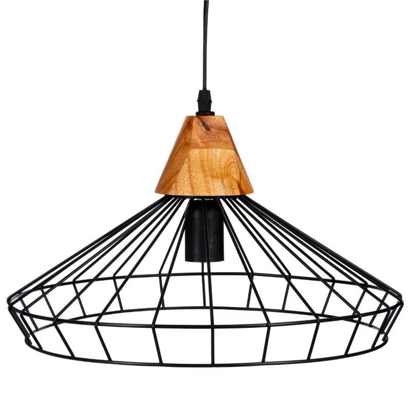 suspension filaire en m tal h16 noir veo shop. Black Bedroom Furniture Sets. Home Design Ideas