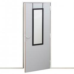 Miroir de porte 36X110cm CLASS - Noir