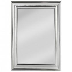Miroir avec moulure 78X108cm - Argenté