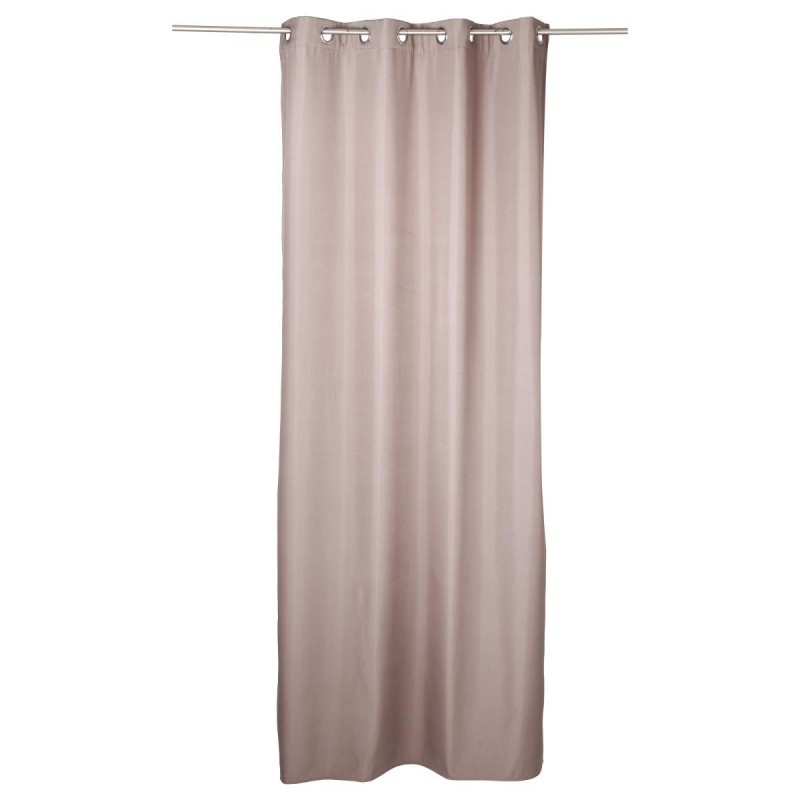 Rideau isolant 260x140cm taupe veo shop for Rideau taupe