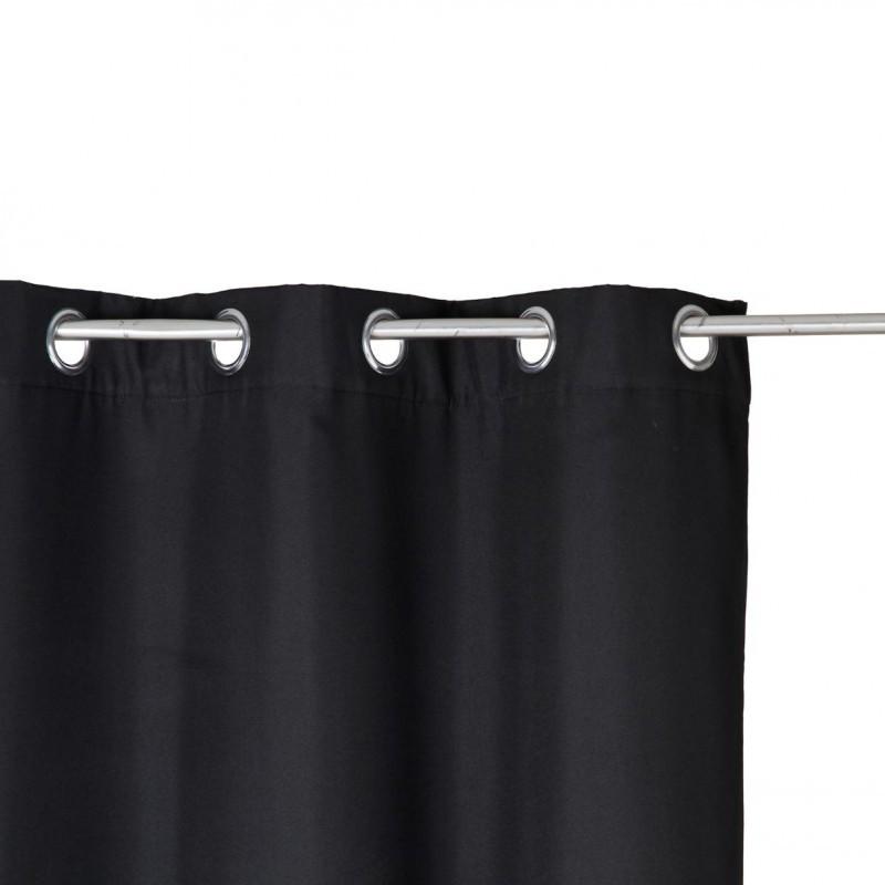 rideau isolant 260x140cm noir veo shop. Black Bedroom Furniture Sets. Home Design Ideas
