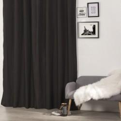 Rideau isolant 260X140cm - Noir