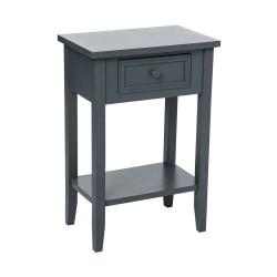 Table de chevet CHARME, ESPRIT CAMPAGNE - Gris foncé