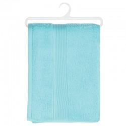 Drap de douche en coton bio 130X70cm - Bleu aqua
