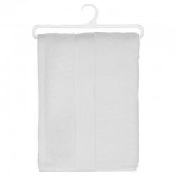 Drap de douche en coton bio 450g/m² 130X70cm - Blanc