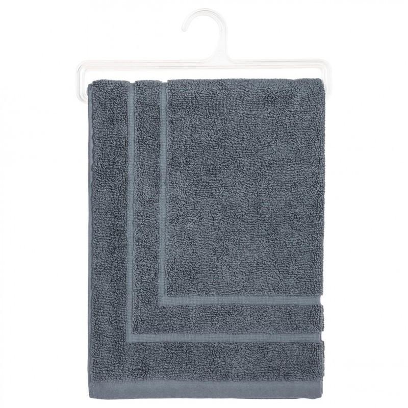 Tapis de bain 50x70cm gris fonc veo shop - Tapis gris fonce ...