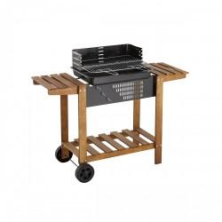 Barbecue chariot au charbon CLORINDA