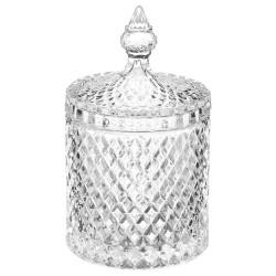 Bonbonnière en diamant 18cm
