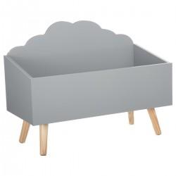 Coffre nuage - Gris
