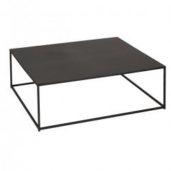 Table basse carrée en métal GOTA - Noir