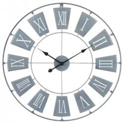 Pendule en métal D76 - Gris