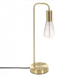 Lampe en métal H46cm ESSENTIAL MOOD - Doré