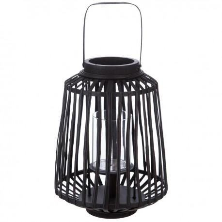 Lanterne tressée ESSENTIAL MOOD - Noir