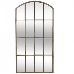 Miroir galerie en métal 177,5X91,5cm WHITE FACTORY