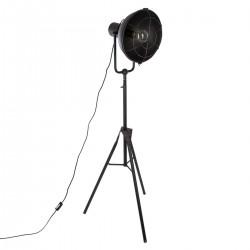 Lampadaire trépied en métal H150cm HIPSTER HOME - Noir