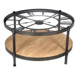 Table basse pendule D89,5 CHRONO