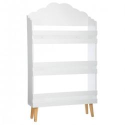 Bibliothèque nuage pour enfant - Blanc