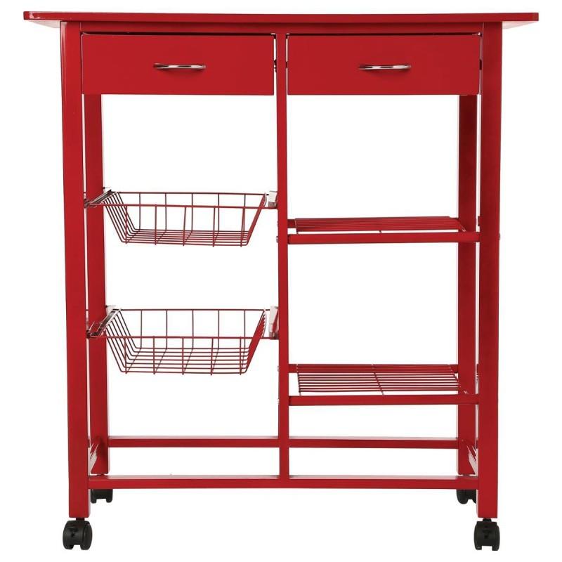 grande desserte de cuisine cooking rouge veo shop. Black Bedroom Furniture Sets. Home Design Ideas