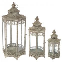 Lot de 3 lanternes SPRING GARDEN