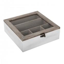 Boîte à thé 9 compartiments SPRING GARDEN
