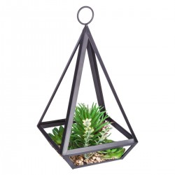 Plante artificielle en métal H28,5cm CONTEMP' HOME