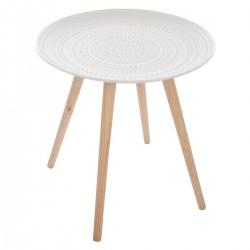 Table à café MILEO, INTÉRIEUR NOMADE - Blanc