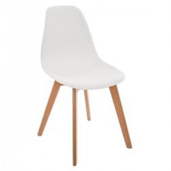 Lot de 2 chaises simples pour enfant - Blanc