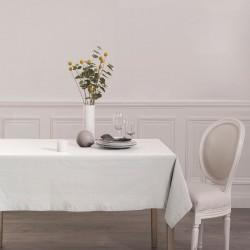 Nappe 240X140cm CHAMBRAY - Blanc