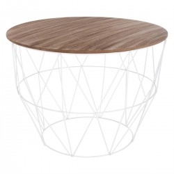 Table basse ATOMIC HOME - Blanc