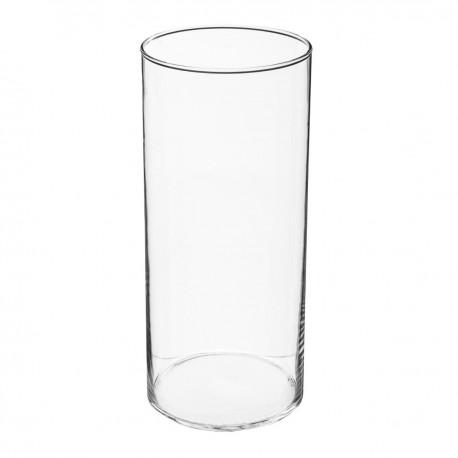 Vase cylindre H30cm CONTEMP' HOME - Transparent