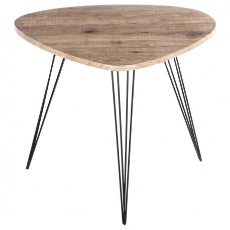 Table d'appoint H60cm NEILE - Bois