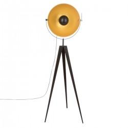Lampadaire parabole trépied H152cm TIPO, RETRO FACTORY - Noir