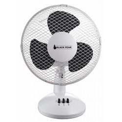 Ventilateur à poser sur table D23cm BLACK PEAR - Blanc