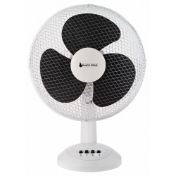 Ventilateur à poser sur table D30 BLACK PEAR - Blanc
