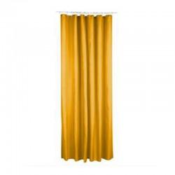 Rideau de douche en polyester 200X180cm - Jaune moutarde