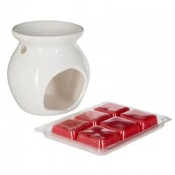Brûle parfum et cire 30g - Fruits rouges