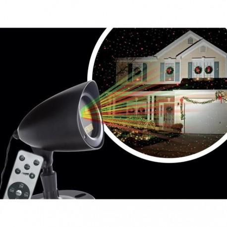 Projecteur à mouvements rouge et vert