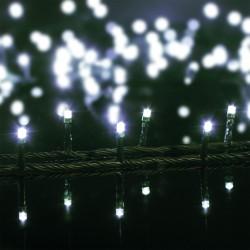 Guirlande lumineuse 100 LED blanc chaud 10m - Intérieure