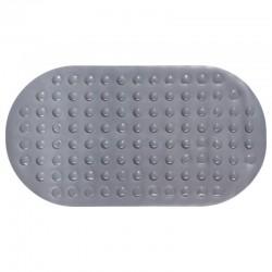 Tapis de baignoire en PVC - Gris