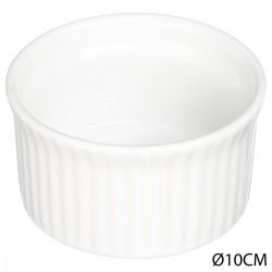 Ramequin en céramique 10cm - Blanc