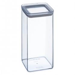 Boîte carrée 1,5L ESKE - Transparent