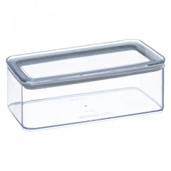 Boîte rectangle 1L ESKE - Transparent
