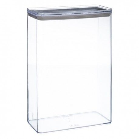 Boîte rectangle 4,3L ESKE - Transparent