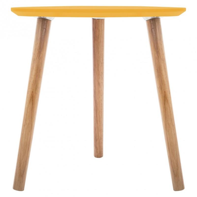 moutarde Veo shop café Jaune à Table triangulaire MILEO OXn8w0Pk