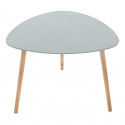 Table à café triangulaire MILEO - Gris clair