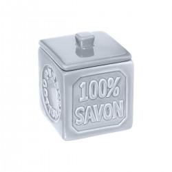 Pot à coton 100% SAVON - Bleu