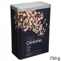 Boîte à céréales en relief 750g